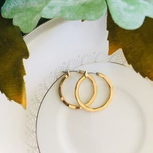 Jewelry - Gold Plated Hoop Earrings